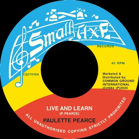 "(7"") PAULETTE PEARCE - LIVE..."