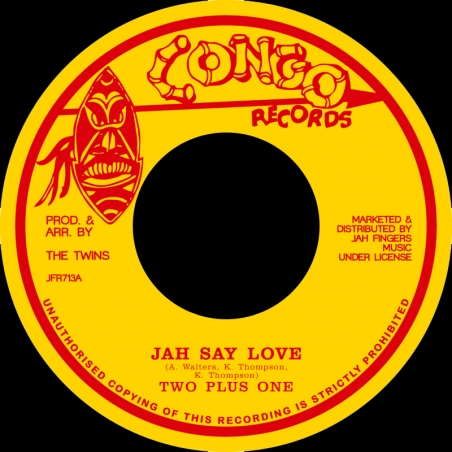 """(7"""") TWO PLUS ONE - JAH SAY..."""