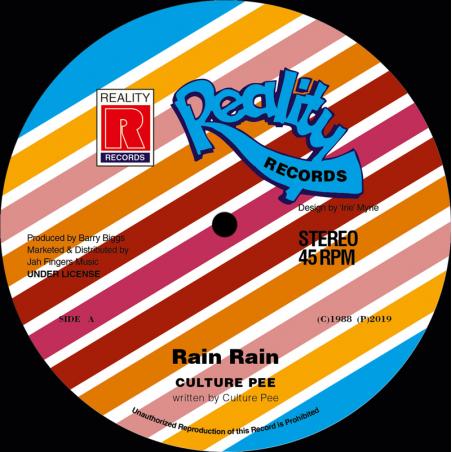 """(12"""") CULTURE PEE - RAIN RAIN"""