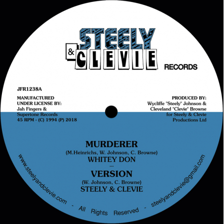"""(12"""") WHITEY DON - MURDERER..."""