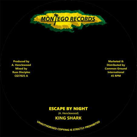 "(7"") KING SHARK - ESCAPE BY..."