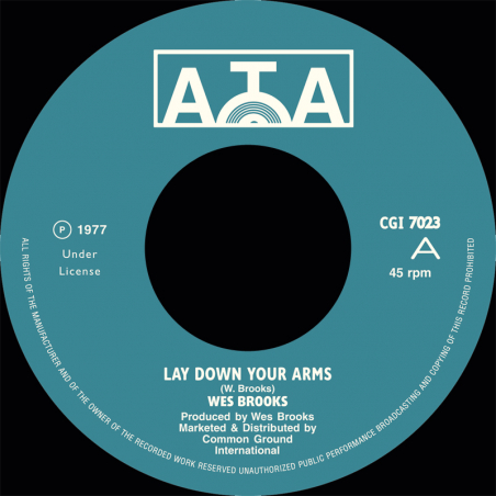 "(7"") WES BROOKS - LAY DOWN..."