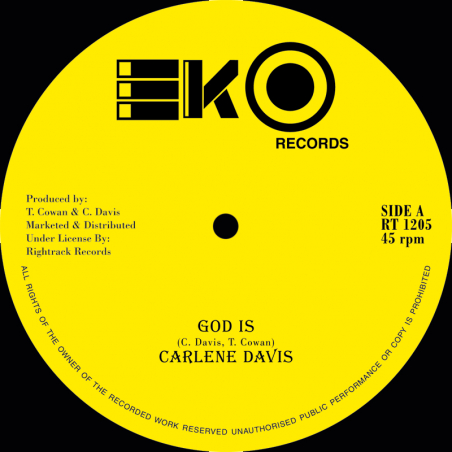 "(12"") CARLENE DAVIS - GOD IS"