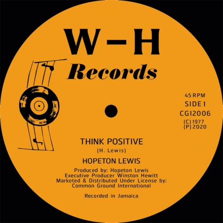 "(12"") HOPETON LEWIS - THINK..."