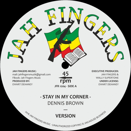 "(12"") DENNIS BROWN - STAY..."