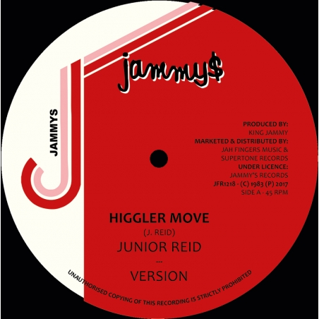 "(12"") JUNIOR REID - HIGGLER..."