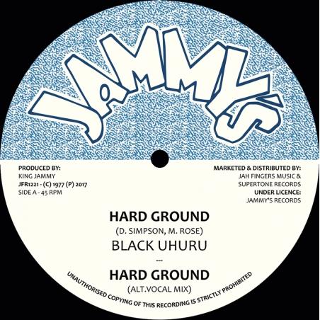 """(12"""") BLACK UHURU - HARD..."""