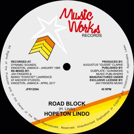 """(12"""") HOPETON LINDO - ROAD..."""
