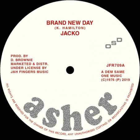 """(7"""") JACKO - BRAND NEW DAY"""