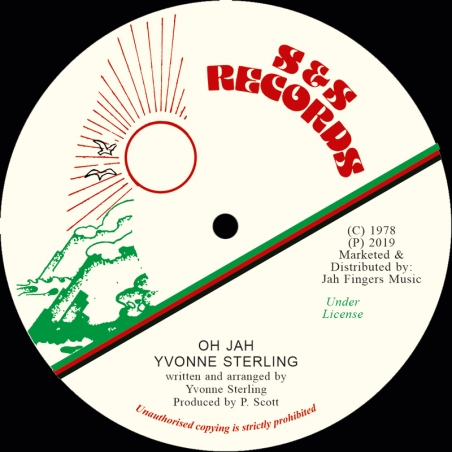 "(7"") YVONNE STERLING - OH JAH"