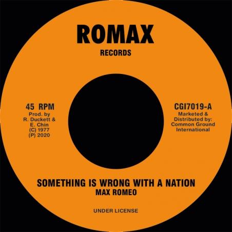 """(7"""") MAX ROMEO - SOMETHING..."""