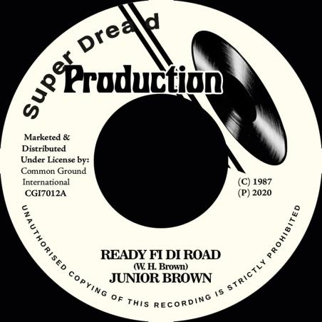 "(7"") JUNIOR BROWN - READY..."