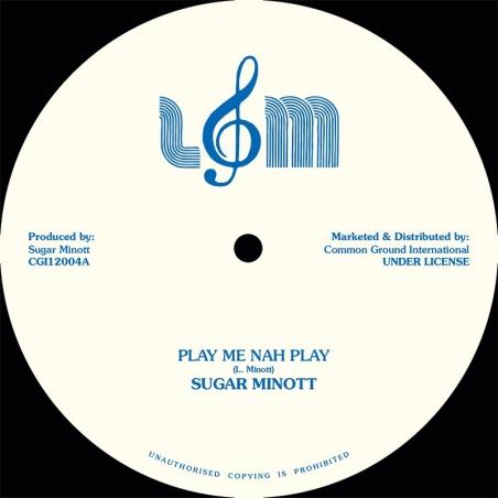 """(12"""") SUGAR MINOTT - PLAY..."""