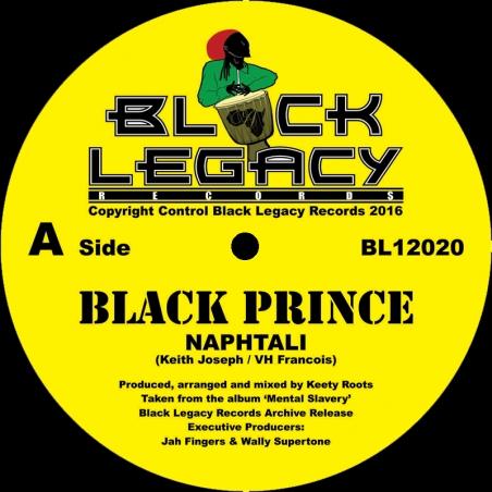 """(12"""") NAPHTALI - BLACK PRINCE"""