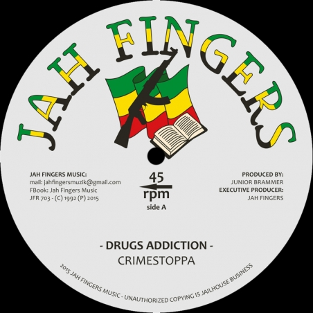"(7"") CRIMESTOPPA - DRUGS..."